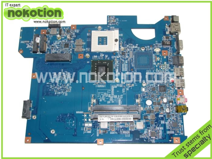 NOKOTION laptop motherboard for Gateway nv54 MBWDG01001 DDR2 Mainboard full tested free shipping v000138330 laptop motherboard for toshiba satellite l300 ddr2 full tested mainboard free shipping