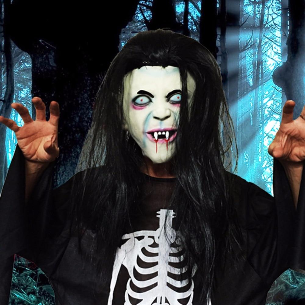 aliexpress : buy halloween mask sadako pullover horror mask