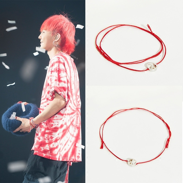 Kpop Home Bang Gd G Dragon Same Fashion Peaceminusone Style Silver Plate Bracelet Hand
