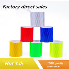 5cmx3m Reflective Stickers Safety Adhesive Tape Fluorescent Bicycle MTB Cycling Blue Yellow Red Bike Sticker Accessories