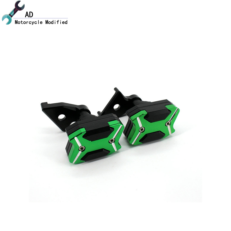 AD ZX-10R CNC Engine Guard Crash Frame Slider Cover Protector For Kawasaki ZX10R ZX 10R 2011 - 2015 Motorcycle Accessories !