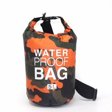 2L 5L 10L Outdoor River Trekking Bag Waterproof Ocean Pack PVC Dry Bag Pouch Swimming Swim Impermeable Water Proof Bag facecozy swimming river trekking dry bags waterproof pvc ocean pack 2l 30l multifunctional outdoor drifting beach backpack