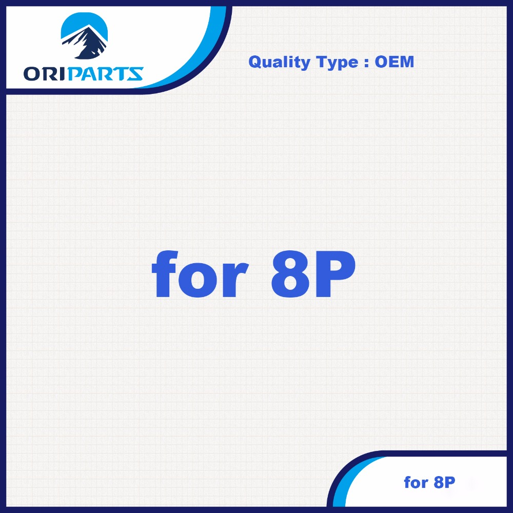 5 ピース/ロット OEM 品質のための 8 液晶ディスプレイブラック/ホワイト  グループ上の 携帯電話 & 電気通信 からの 携帯電話用液晶ディスプレイ の中 1