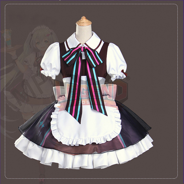 Coffee maid Cafe Vocaloid Hatsune Miku adult costume uniform full set all size & Coffee maid Cafe Vocaloid Hatsune Miku adult costume uniform full ...