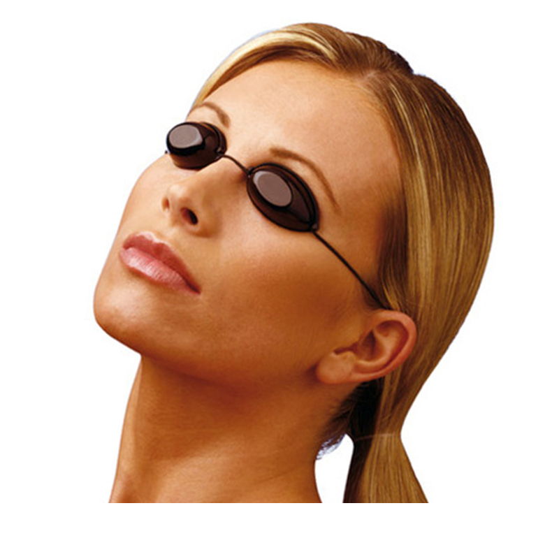 100pcs/lot Flexible Uv Eye Protection Glasses Laser Protective Eye Mask Sunbed Tanning Goggles Soft Beach Sunbathing Eyewear