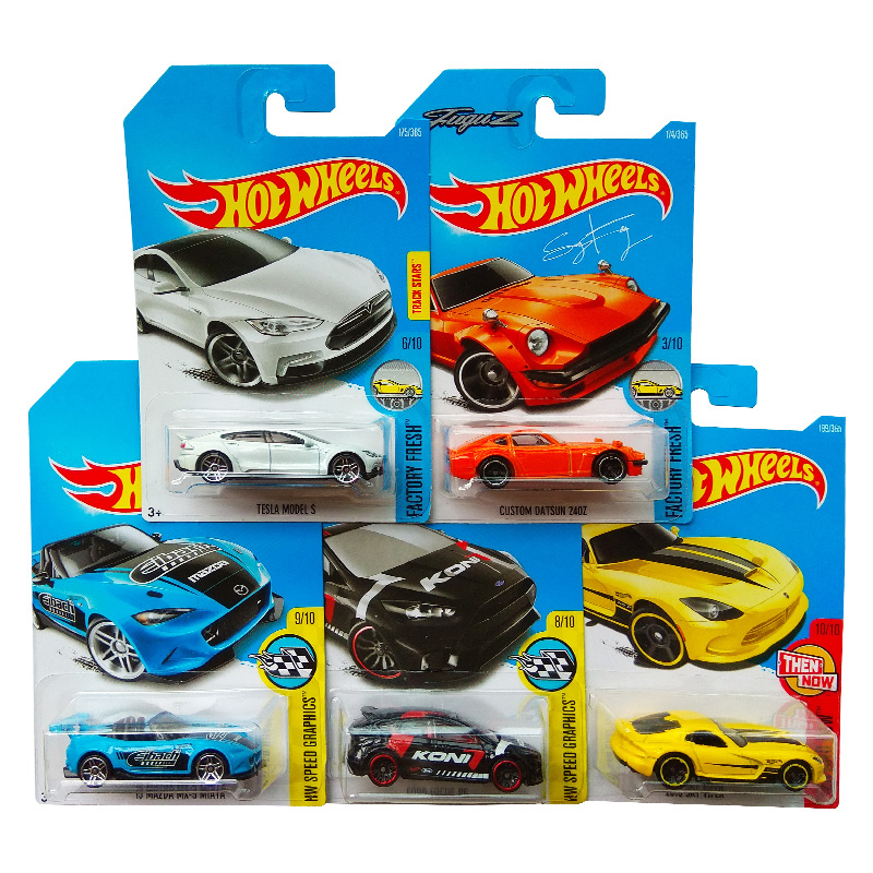 Original Hotwheels Cars 1:64 Mini Toy Basic Sport Car Collection Hot Wheels C4982 For Children Birthday Gift 72pcs Style