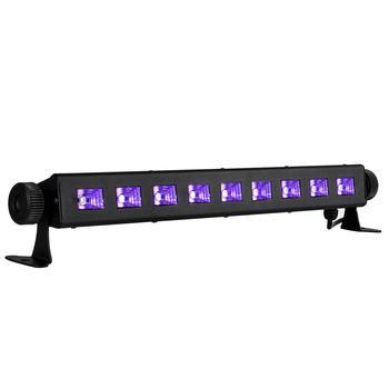 4 Casa Zitzak.27w 9 Led Uv Light Fixtures Eu Plug Portable Blacklight Lamp For Uv Poster Uv Art Dimmable Ultraviolet Lamp For Dj Party