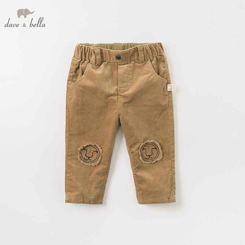 DBW8941 dave bella autumn baby boys fashion pants children full length kids pants infant toddler dark khaki trousers dba7845 dave bella autumn baby boys fashion jeans children full length kids denim pants infant toddler trousers