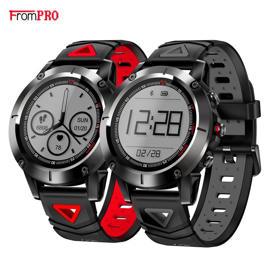 GPS montre intelligente G01 IP68 étanche natation Smartwatch bande avec pression artérielle fréquence cardiaque montre-bracelet Sport boussole Altitude