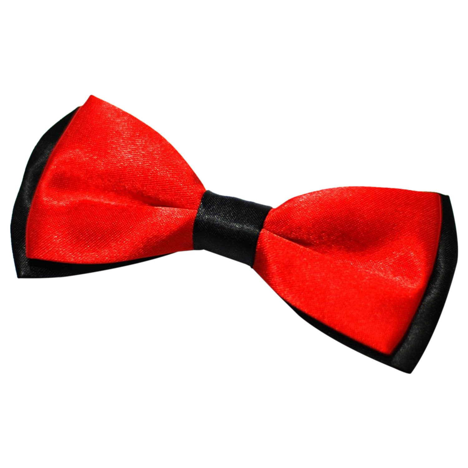 Mens Luxury Polyester Adjustable Bow Tie 12.5X6.5cm