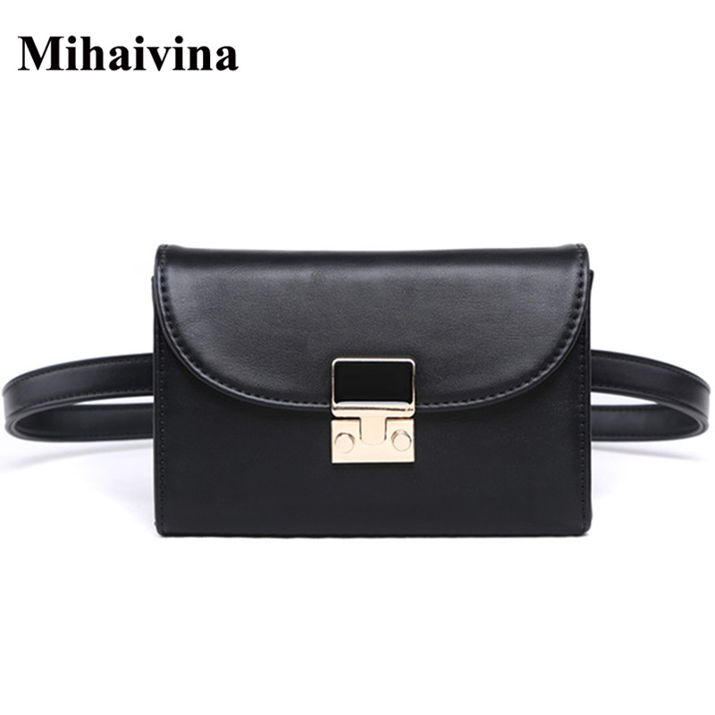 Mihaivina New Travel Waist Pack Female Small Waist Bag Women Waist Packs Fanny Pack Belt Bag Phone Pouch Bags цена