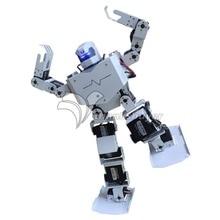16DOF Robo-Soul H3s Biped Robtic двуногий человеческий робот комплект в алюминиевой раме с капюшоном на шлем