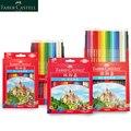 Faber Castell 36/48/72 цветной карандаш для школы Lapiz масляные профессиональные карандаши для рисования радужные цвета Lapis Escolar канцелярские принадле...
