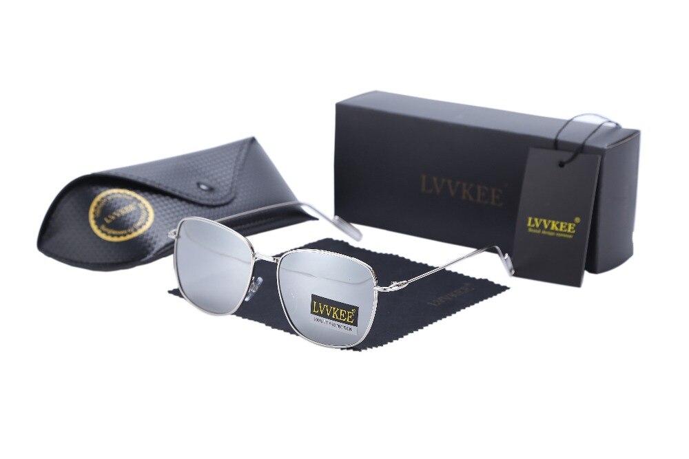 LVVKEE Märkesdesign Mode polariserad beläggning Pilot solglasögon - Kläder tillbehör - Foto 6