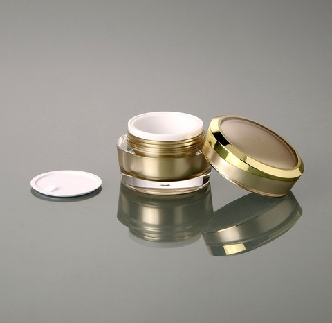 15g ouro acrilico boiao de creme creme