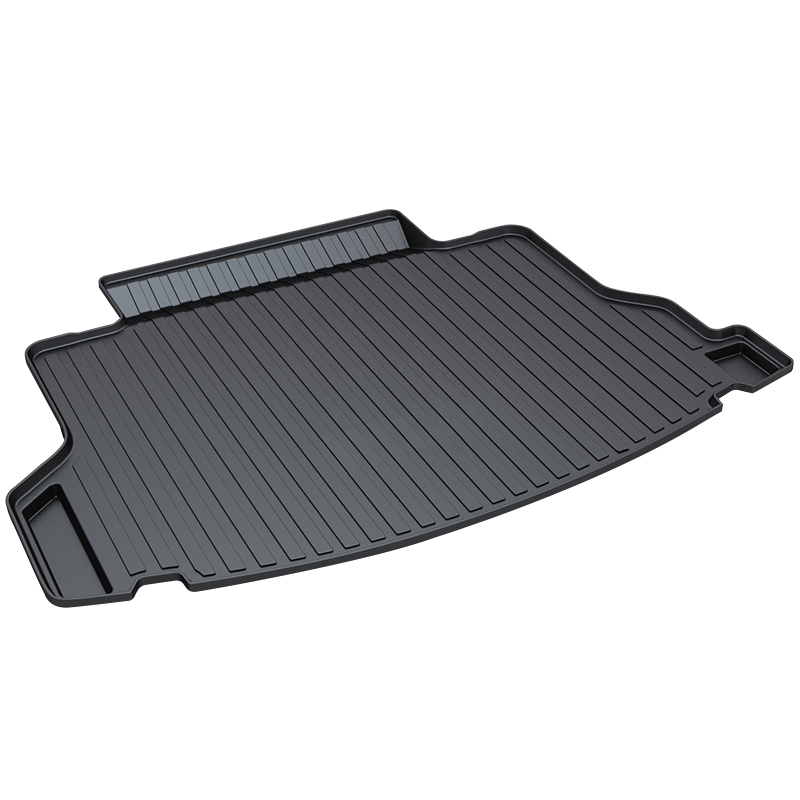 Trunk Mat for Honda CRV,2012-2017,Premium Waterproof Anti-Slip Car Trunk Tray Mat in Heavy Duty,Black for honda jazz trunk tray mat premium waterproof anti slip car trunk carpet in heavy duty black