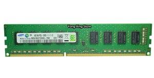 Image 4 - سامسونج DDR3 2GB 4GB 8GB 1333MHz 1600MHz نقية ECC UDIMM خادم الذاكرة 2RX8 8G PC3L 12800E محطة العمل RAM 10600 12800 غير مخزنة