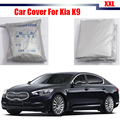 Car Cover For Kia K9 Vehicle UV Anti Outdoor Sun Rain Snow Frost Resistant Protector Dustproof Cover
