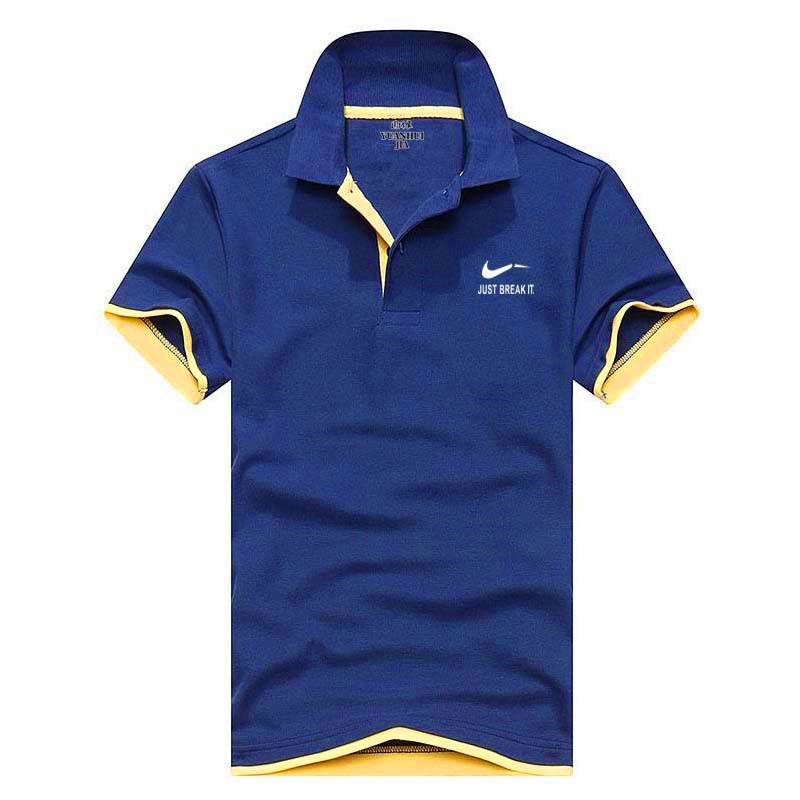 Funny print Brand clothing Men   Polo   Shirt Men Business Casual solid male   polo   shirt Short Sleeve High quality Pure Cotton   polos