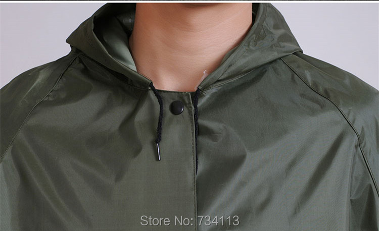 Μακρύ αδιάβροχο poncho για 160-180cm εντάξει - Οικιακά είδη - Φωτογραφία 5
