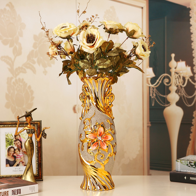 living ceramic home marvelous large decoration vases vase flower room decorative modern for