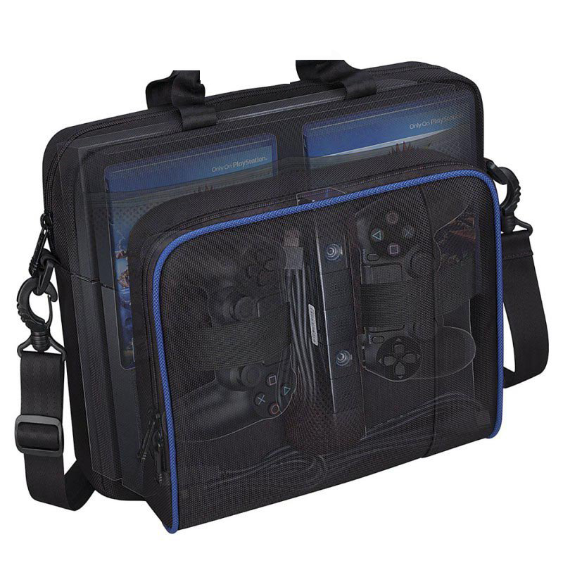 For-PS4-Game-Sytem-Bag-Canvas-Carry-Bags-Case-Protective-Shoulder-For-PlayStation-4-PS4-Console