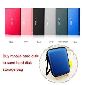 Оригинальный кесу 2,5 дюймов внешний жесткий диск Storage500G USB3.0 1 ТБ HDD Портативный внешнего HD Жесткий диск для рабочего ноутбука сервер