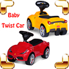 New Year Gift Rastar LF Baby Twist Car Ride On Toy Cars For Kids Children Safety