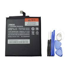 For Xiaomi Mi4c Battery BM35 100% New High Quality 3000mAh Back-up Battery for Xiaomi Mi4c Mi 4c Smartphone in stock+tools