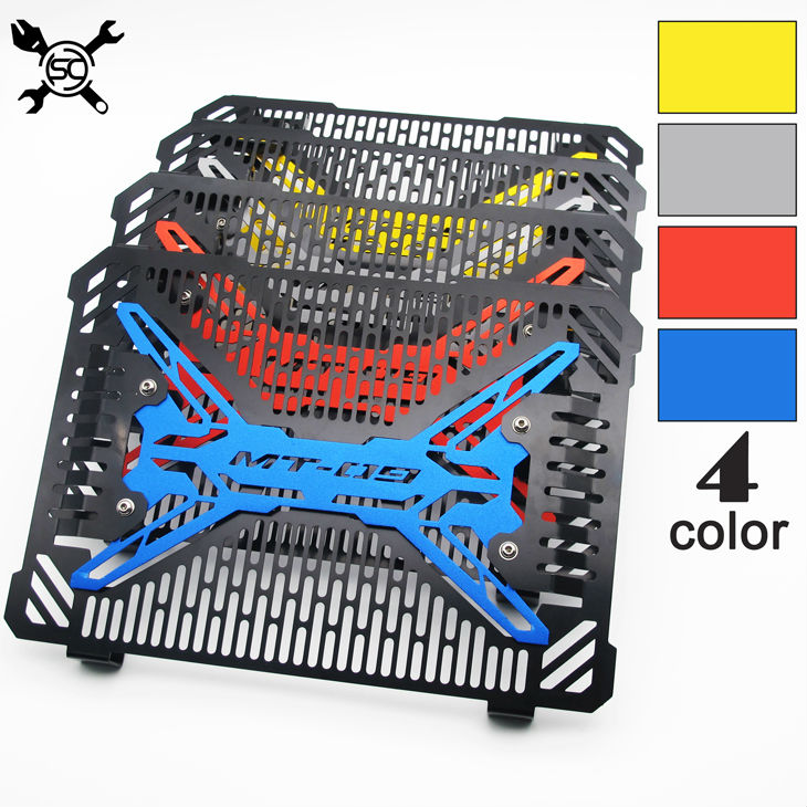 Motorcycle Stainless Steel Radiator Guard Radiator Cover Fit For Yamaha MT09 Tracer MT-09 FZ-09 2014-2019 2015 2016 2017 2018Motorcycle Stainless Steel Radiator Guard Radiator Cover Fit For Yamaha MT09 Tracer MT-09 FZ-09 2014-2019 2015 2016 2017 2018
