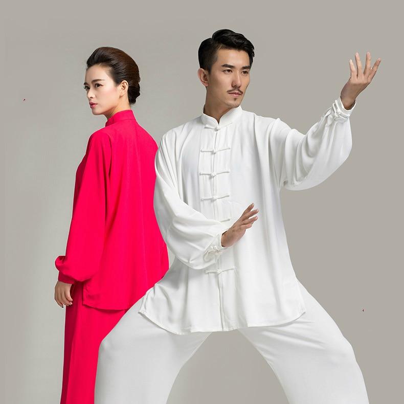 new men's and women's Taijiquan clothing tai chi long sleeve uniforms Kung  Fu performance clothing Wushu Clothing martial art