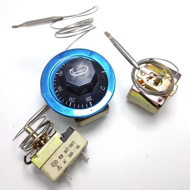 30-85/30-110/30-150/60-200/50-400 centigrade céramique base thermostat mécanique chauffe-eau interrupteur de température