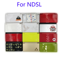 5Sets For Nintendo DS Lite For NDSL Clear Housing Shell Color Housing Case Cover Full Set