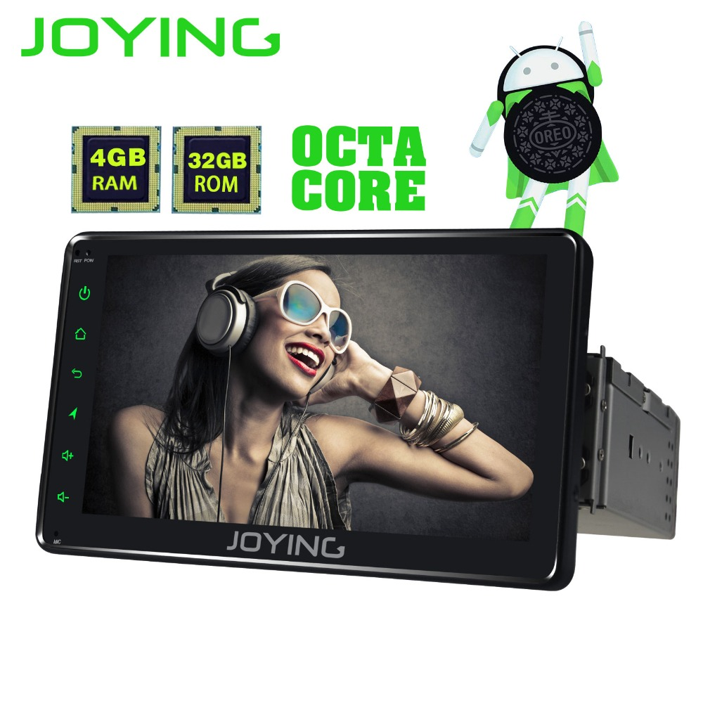 JOYING 1 din 7 inch 4GB RAM 32GB ROM Octa core Android 8.0 car radio stereo GPS HD head unit autoradio recorder support carplay parker ручка шариковая parker s0809240