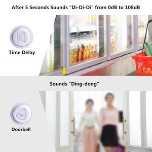 Image 3 - Wsdcam système dalarme de sécurité sans fil pour porte/fenêtre, délai, carillon pour déclenchement magnétique pour porte/fenêtre, pour bricolage