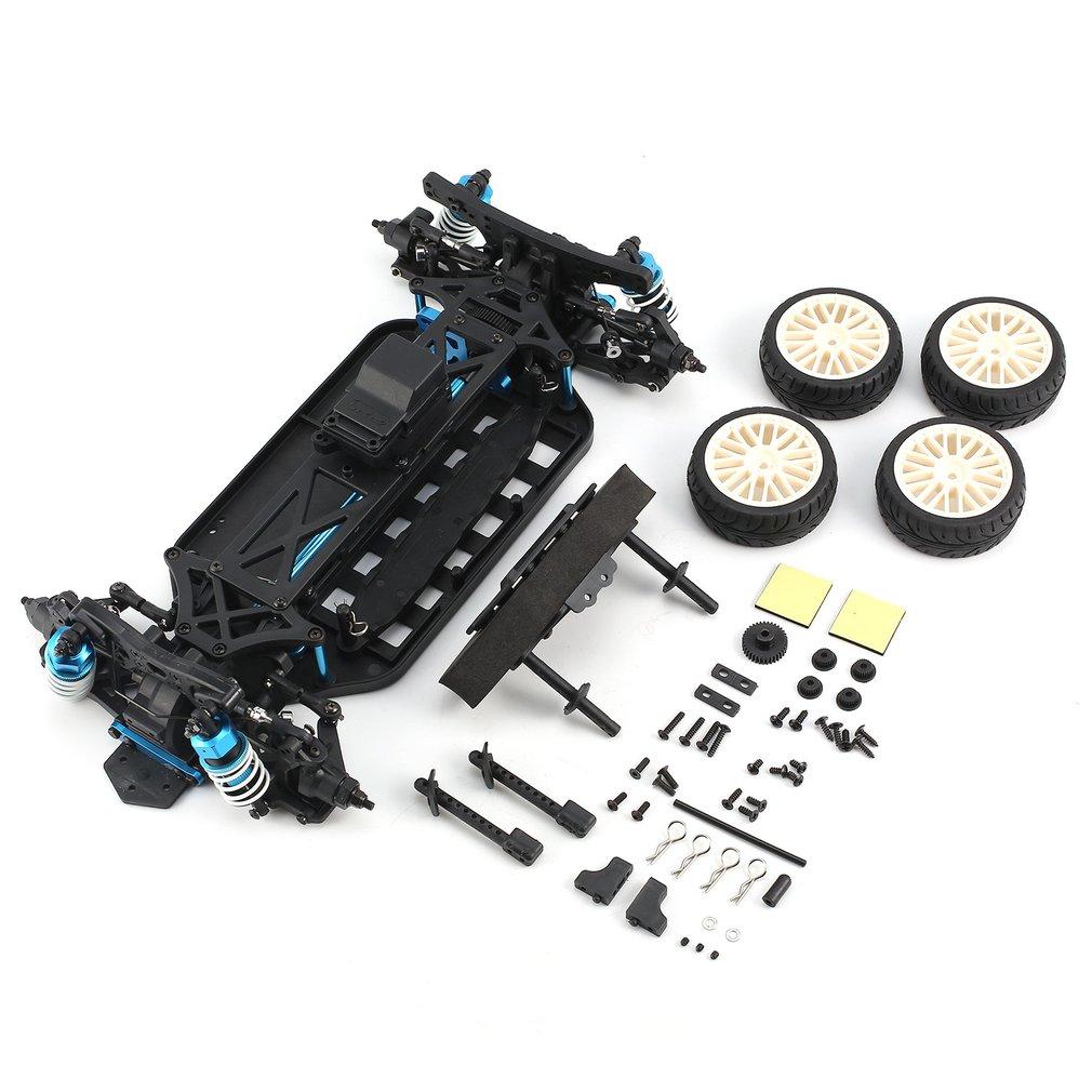 Oyuncaklar ve Hobi Ürünleri'ten Parçalar ve Aksesuarlar'de LRP S10 patlama TC 2 Clubracer olmayan RTR ile tekerlek lastikleri ve vücut 1/10 4WD elektrikli turne araba DIY aksesuarları bileşeni title=