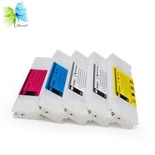 700ML dye sublimation ink cartridge for Epson T3070 T5070 T7070 color printer цена в Москве и Питере