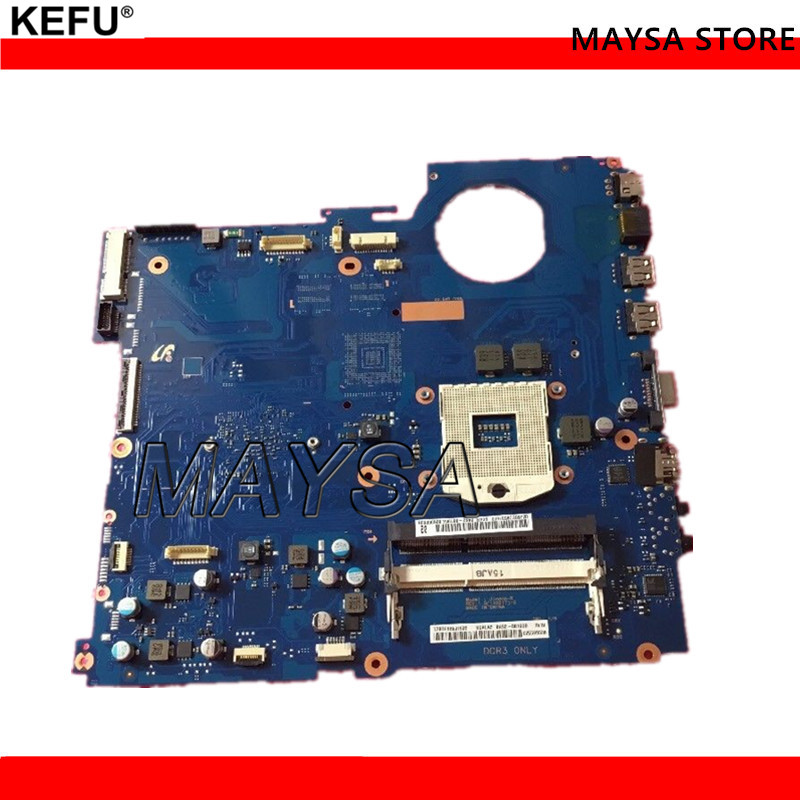 High Quality laptop motherboard for Samsung RV520 BA92-08190B HM65 PGA989 DDR3 Fully tested цена 2017