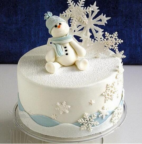 3Pcs/Set Wedding Snowflake Fondant Cake Decorating Plunger