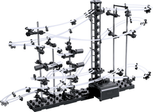 Space Rail Level 1 DIY Educational Toys for Kids Physics Ball Rollercoaster Powered Elevator 5000mm Model Building Kits