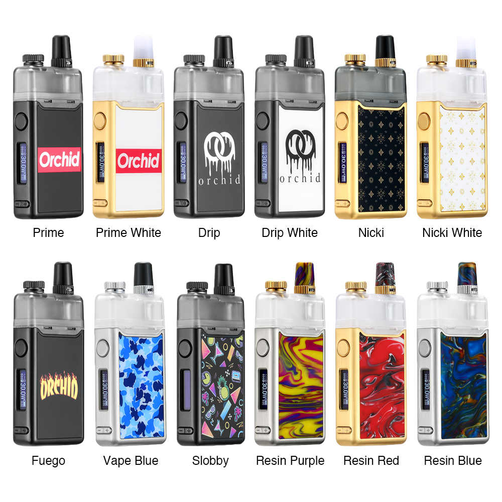 Original LostVape Orion DNA GO Starter Kit 2ml capacity and