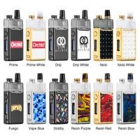 Heavengifts Orchid IQS Pod Kit 950mAh Built in Battery With 3ml Capacity for MTL & DL vaping E cigarette VS LOST VAPE Orion Kit