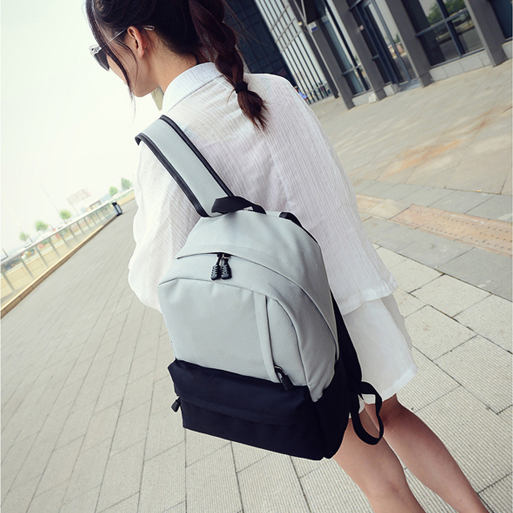 Hot Sale Men Women Backpack Unisex Vintage Canvas Backpack Rucksack School Satchel Fashion Bag Bookbag Teenager Travel Bag 2016 hot sale fashion canvas cute mustache school book bag vintage women backpack casual women backpack