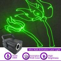 Işıklar ve Aydınlatma'ten Sahne Aydınlatması Efekti'de Sharelife 500mw RGB animasyon lazeri Mini DMX 512 projektör ışık DJ Gösterisi için Düğün Ev Konser Parti PRO Sahne Aydınlatma F2750