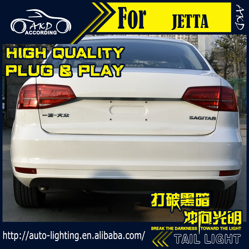 Akd Car Styling Tail Lamp For Vw Jetta Lights 2017 Gli Light Led Signal Drl Stop Rear Accessories In Embly From
