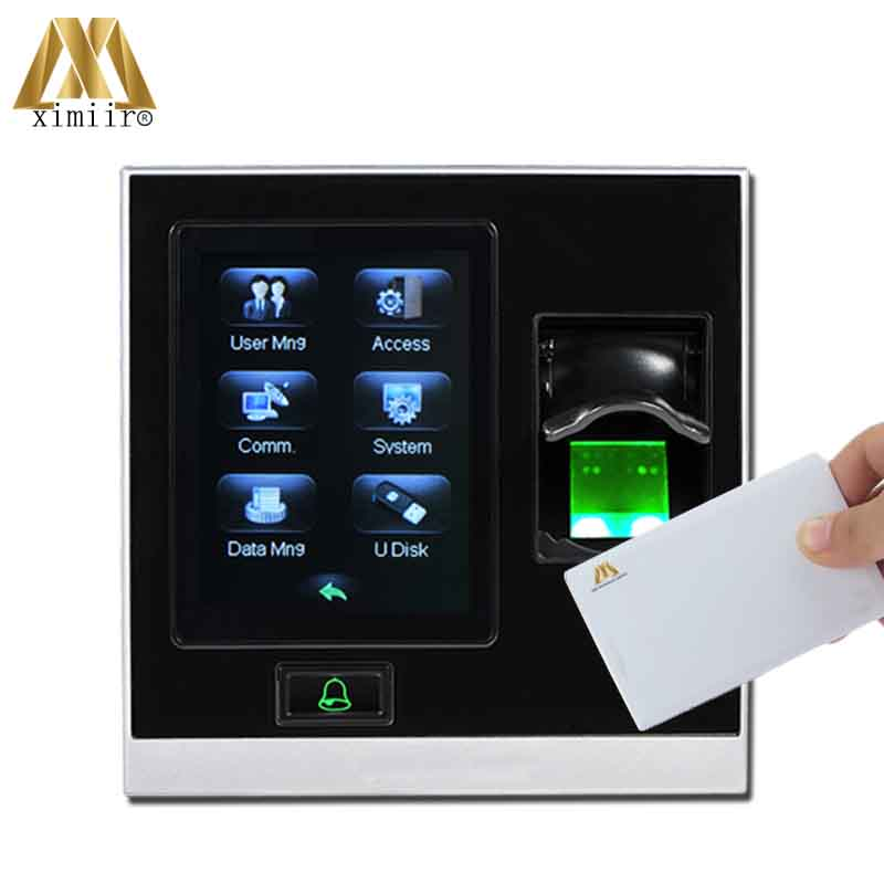 Door Access Control System ZK SF400 Biometric Fingerprint Access control and Time Attendance TCP/IP RS485With MF Card Reader ip65 waterproof fingerprint access control and time attendance tcp ip zk tf1700 door access control system with rfid card reader