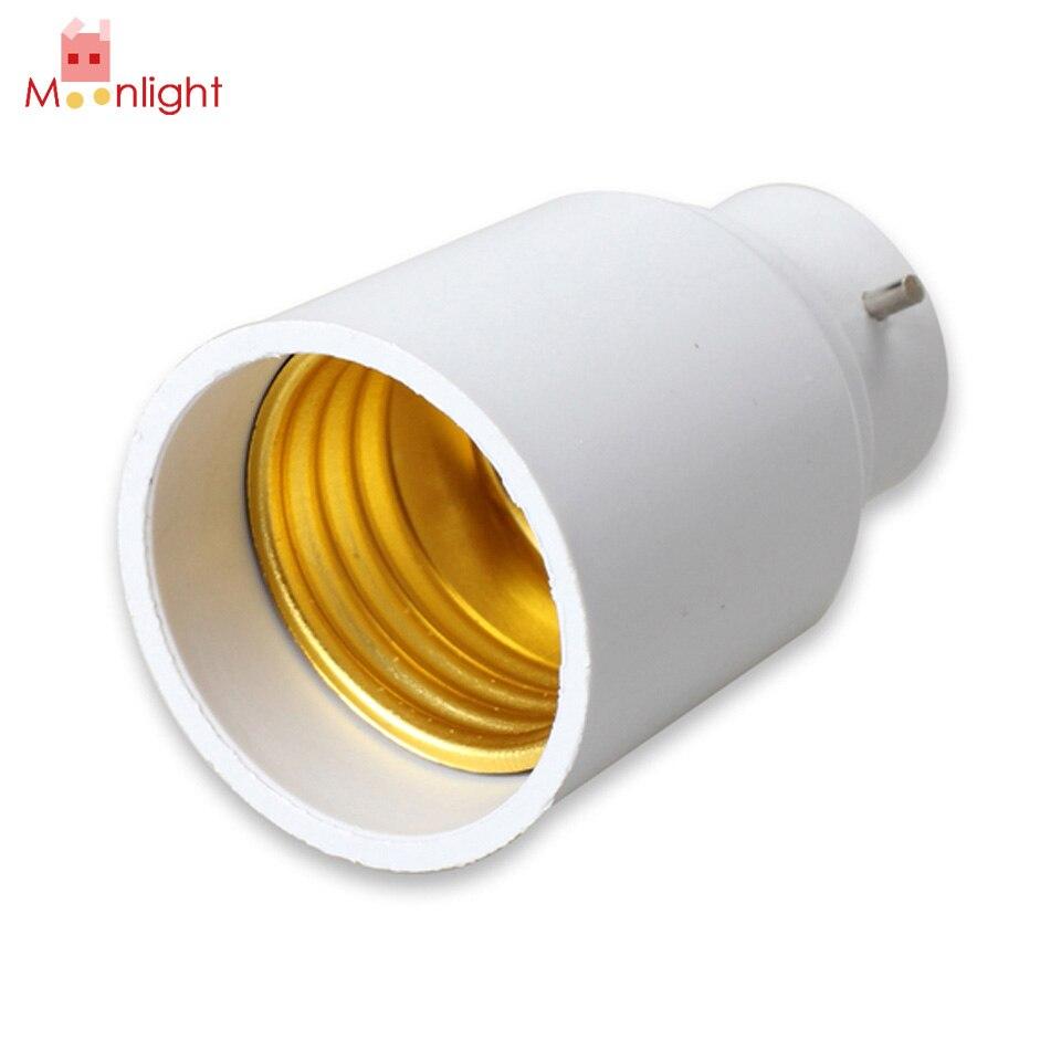B22 to E27 Base LED Lamp Light Bulb Holder Converter Halogen CFL Light Base Bulb Lamp Adapter Converter Socket uvc germicidal cfl lamp bulb voltage 220v wattage 25w 15w base type e27 screw base compact sterilizer bulb