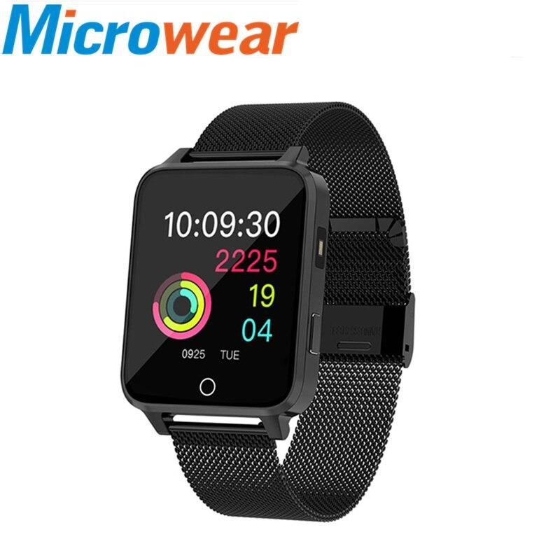 Smart wristband fashion fitness tracker men s smartwatch IP68 waterproof heart rate monitor VS B57 S226