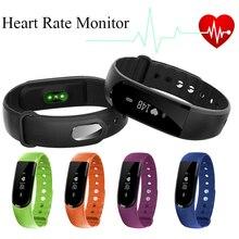 Smartband ID101 Умный Браслет Bluetooth 4.0 Heart Rate Monitor Pulse Спортивные Смарт-Группы Фитнес-Трекер для Android iOS