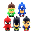Real capacity usb flash drive minion super hero man batman U disk Memory Pen Drive Stick 4GB 8GB 16GB 32GB 64GB pendrive